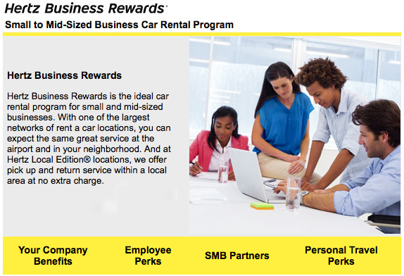 Hertz Business Rewards