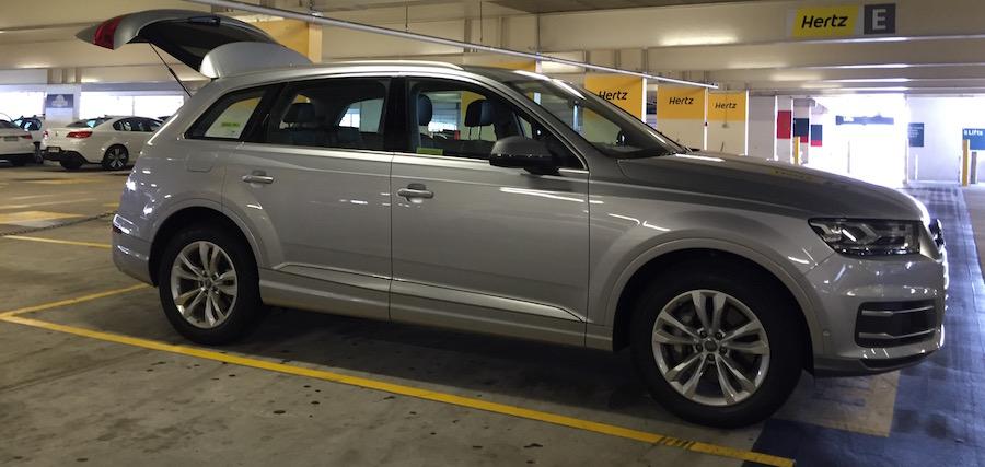 Hertz Prestige Audi Q7 Review Ridehacks
